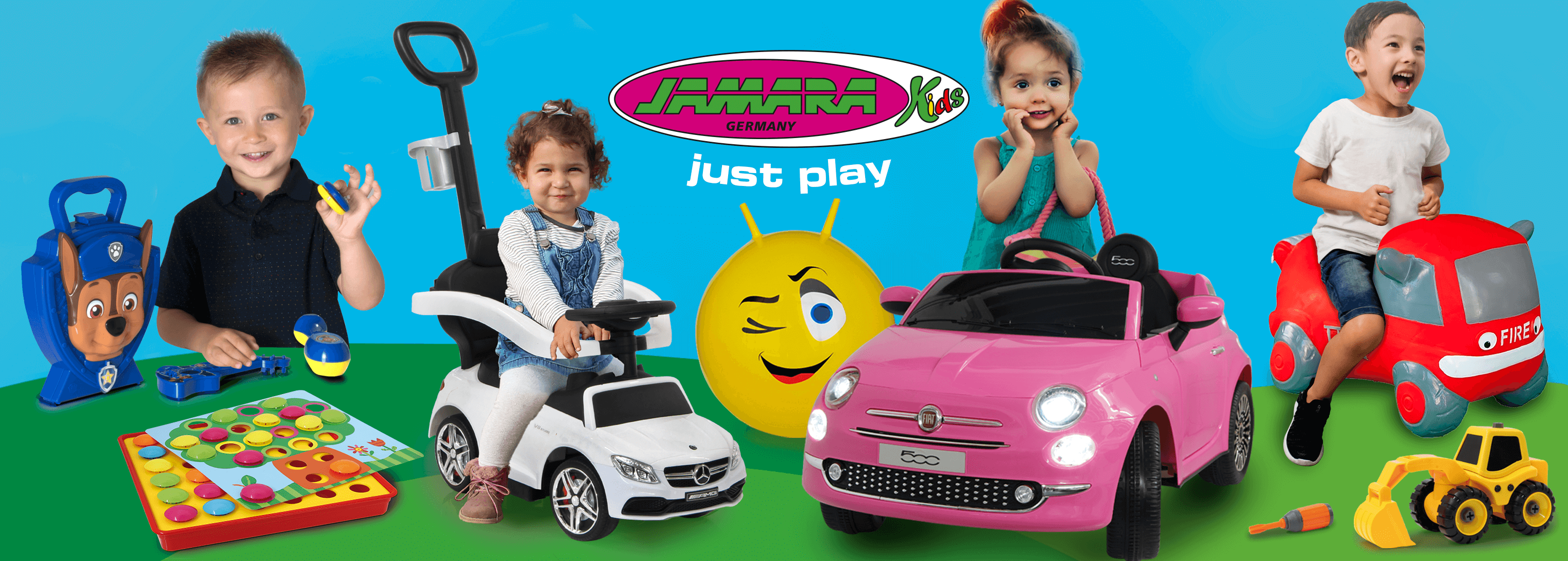 Jamara RC toys - without any construction effort immediately ready for use
